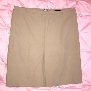 BCBG Khaki Summer Skirt size 2